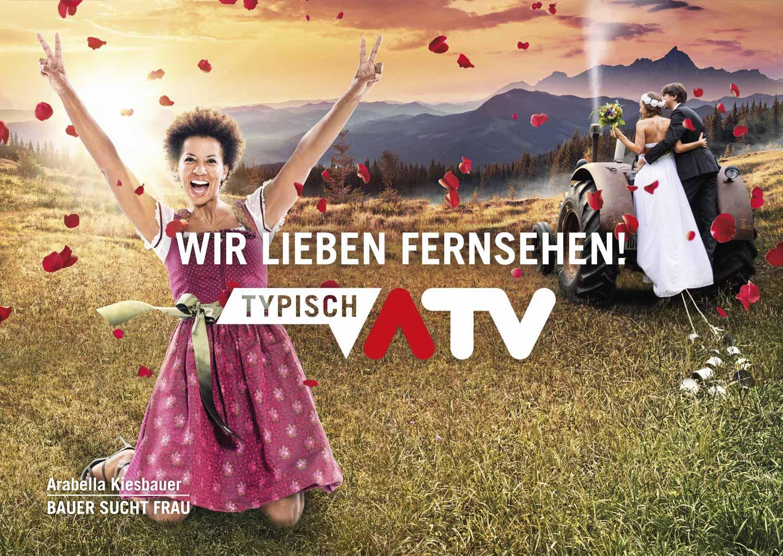ATV Arabella Kiesbauer Plakat