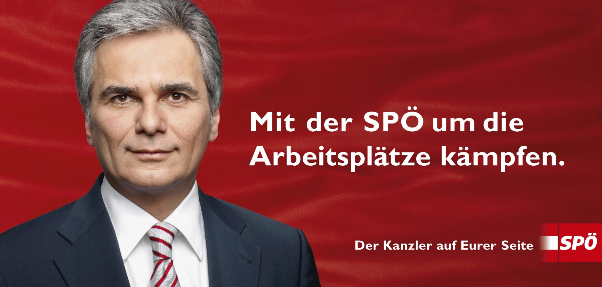SPÖ - Werner Faymann Plakat