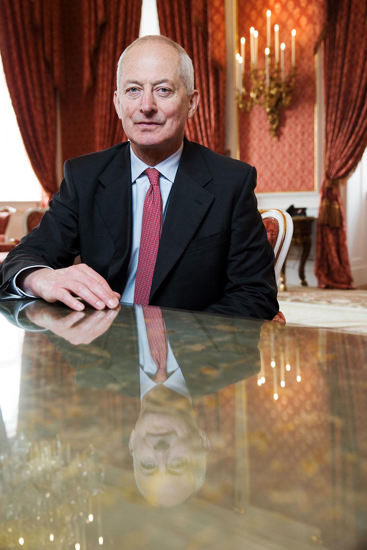 Fuerst Adam II von Liechtenstein
